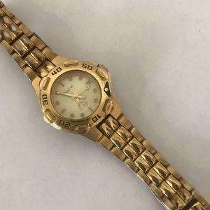 Bulova Marine Star Watch-Ladies gold